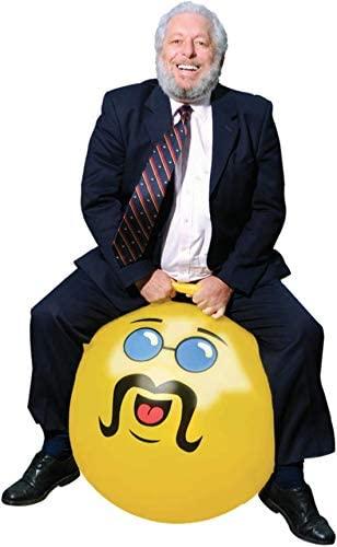 WALIKI Adult Size Hopper Ball | Hippity Hop | Hopping Hop Ball | Jumping Ball | Yellow Like A BOSS