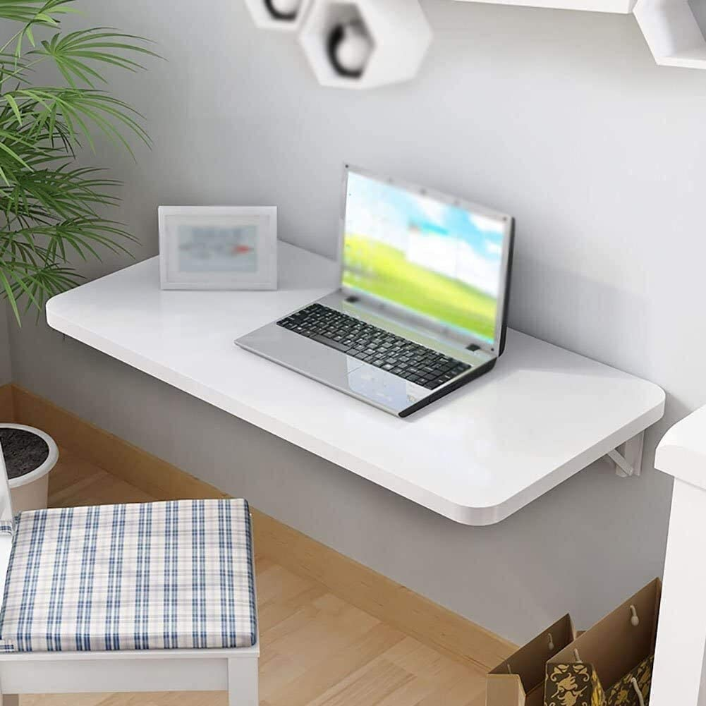 Low Table Folding Table Simple Wall Table Home Dining Table Wall-Mounted Computer Desk Student Desk Saves Computer Desk (Size : 9040cm)