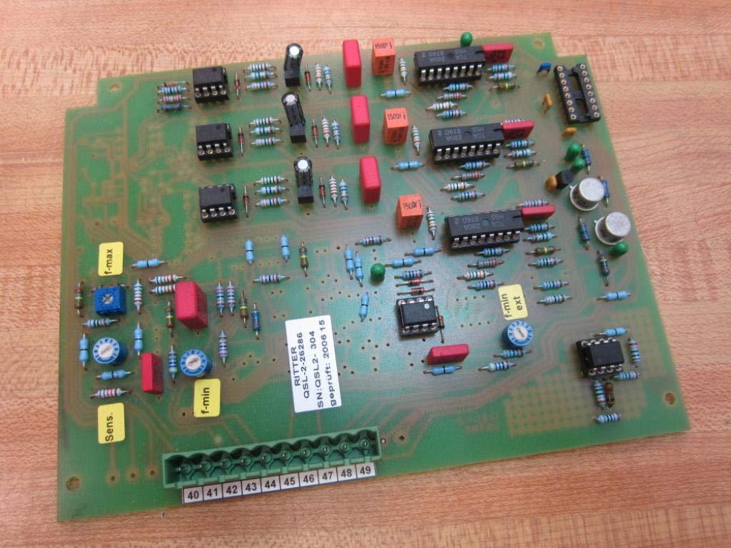 Ritter QSL-2-26286 Circuit Board QSL226286