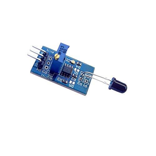 Sensors 1CPS Flame Sensor Module Wavelength 760nm-1100nm LM393 IR Flame Temp Sensor