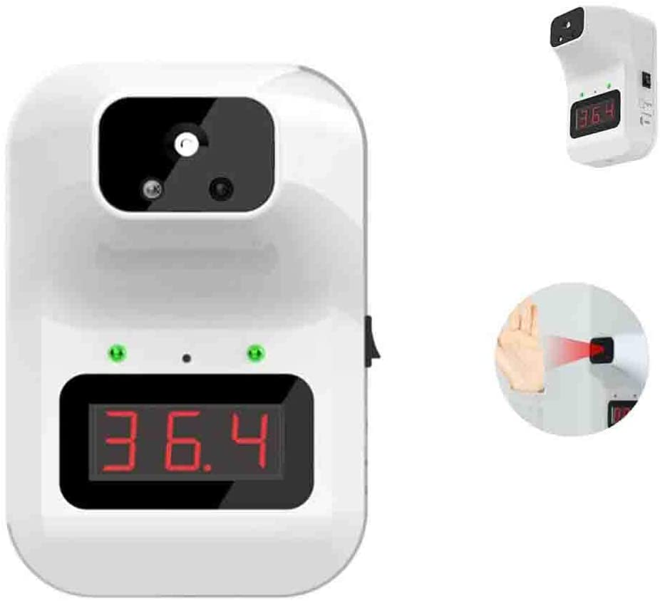 HHYGR Fully Automatic Non-Contact Infrared Thermometer LED Digital Forehead Thermometer for Company Stores