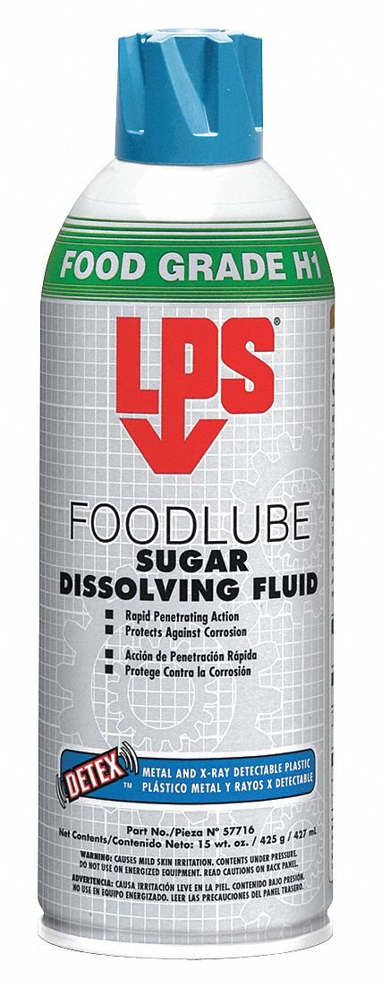 LPS FOODLUBE Sugar Dissolving Fluid 15 oz Aerosol Can