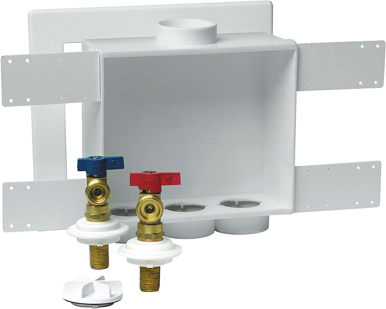 Oatey Brass 38530 2-Inch Copper Sweat Standard Pack 1/4 Turn Valves
