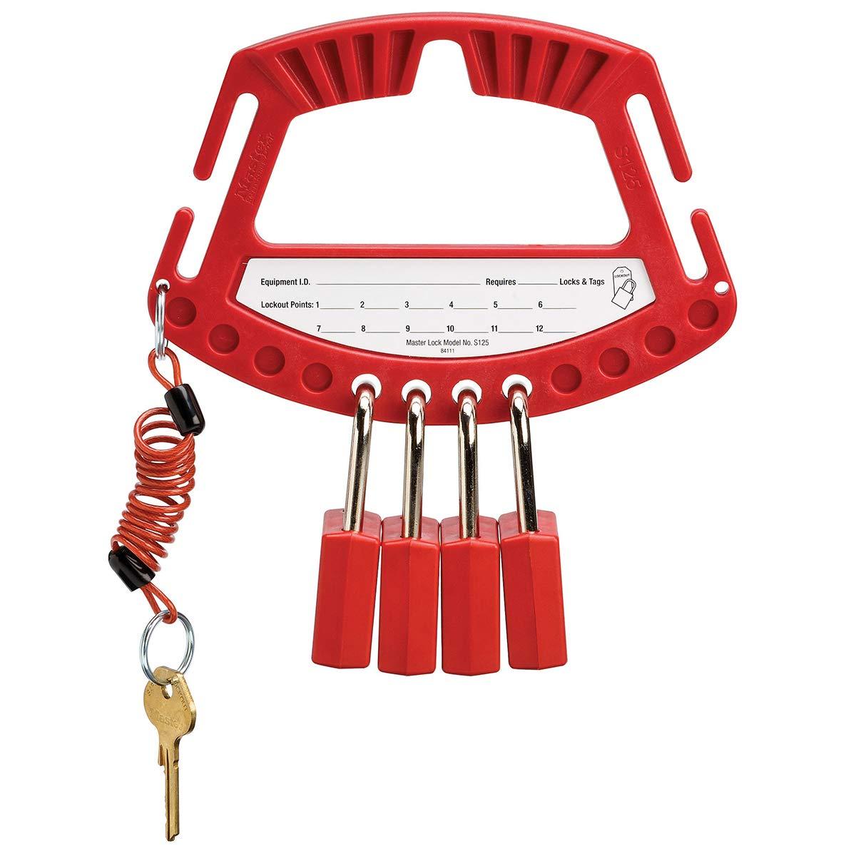 Master Lock Safety Padlock Caddy