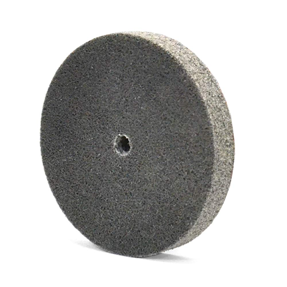 Superior Abrasives 54658 SHUR-Brite 1in x 1in x 3/16in Arbor Mounted Unitized Wheel, 6SF (Pack of 40)