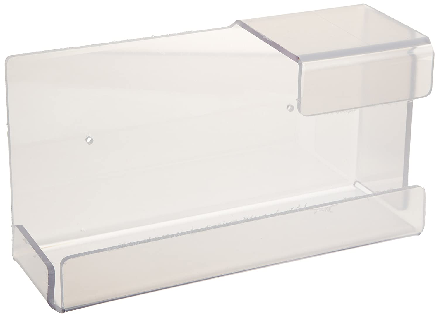 ZING 7220 Eco Glove Dispenser, Single Box, Universal Mount, Clear, 10.5Lx6Wx4H, Recycled Plastic
