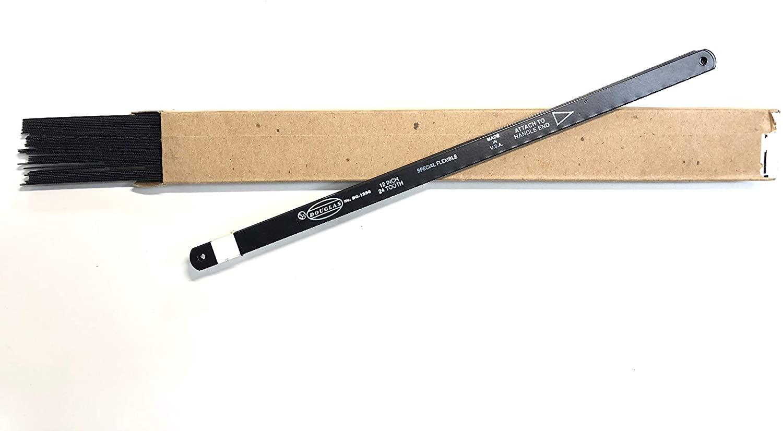 Douglas Tools 50pcs 12in 24TPI Douglas Hack Saw Carbon Steel Metal Blades Replacement Blade