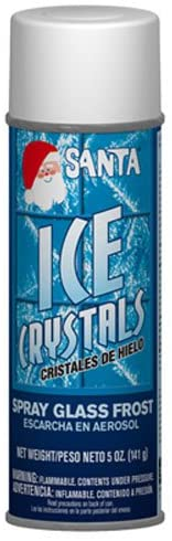 CHASE PRODUCTS 499-0542 Ice Crystals Frost for Decoration, 5-Ounce