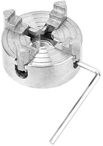4 Drill Chuck Zinc Alloy Drill Chuck 1.8 to 56 mm Drill Chuck Chuck Diameter Mini Metal Lathe Clamp Attachment