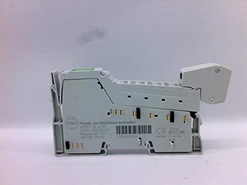 PMA KSVC-103-00121 Analog I/O Module, Vario AI 2/SF, Modular Control System, 2 MA/V Input