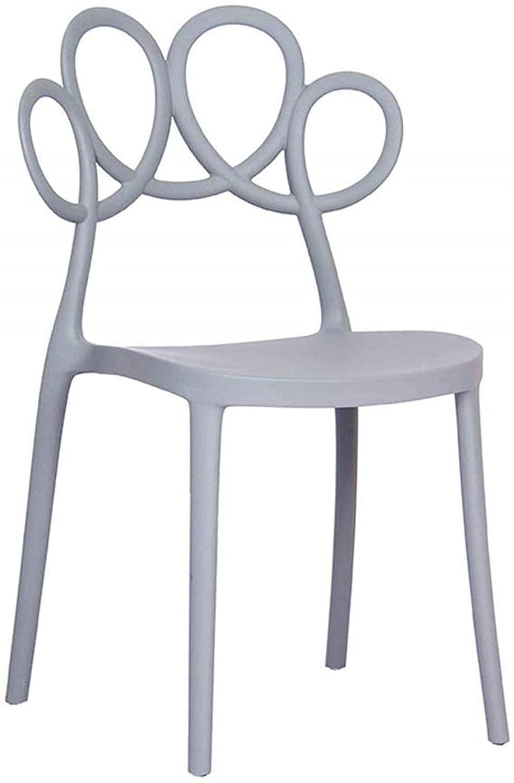 PLLP Bars, Cafes, Restaurant Chairs,Chair Bar Chair Bar Stoolleisure Chair Home Dining Chair Plastic Chair Nordic Chair Restaurant Creative Home Fashion Coffee Chair, 7 Colors,Colour:G,B