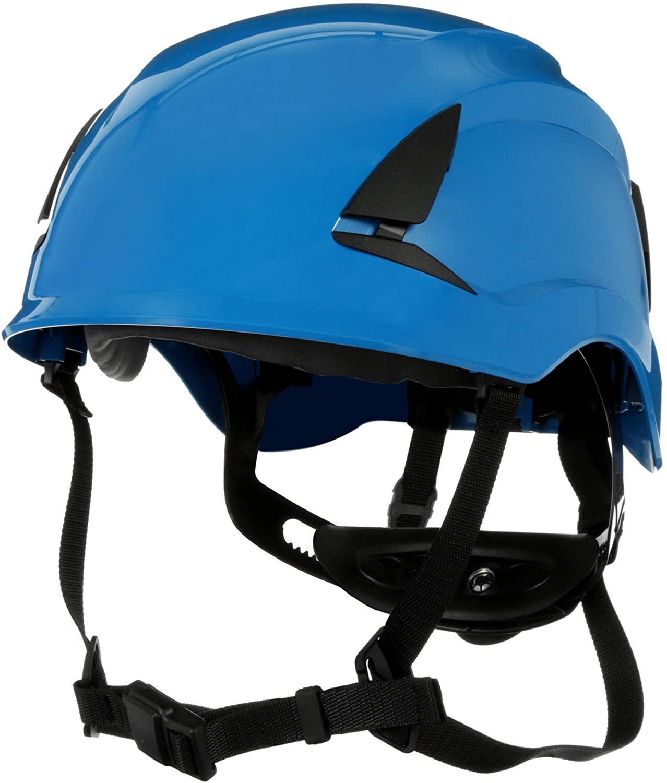 3M SecureFit Safety Helmet, X5003-ANSI, Blue