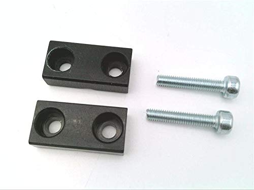 IFM MOUNTING CLAMP 3.5 MM-E20106 MOUNTING CLAMP for Fibre Optics, for The Safe Fastening of Fibre Optics Easy MOUNTING Using ONLY Two Screws for Installation in Places Where Access is Difficult
