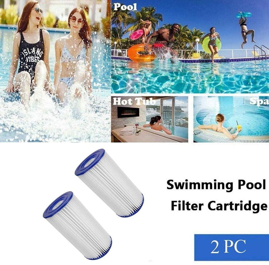 Intex 0775431 Filter Cartridge for Swimming Pool Blue 10,8 x 21,6 x 20,3 cm - Set of 2