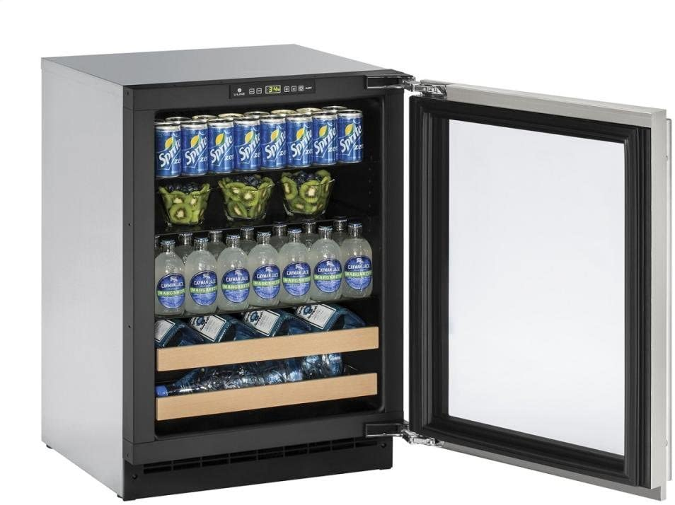 U-Line U2224BEVS00A Built-in Beverage Center, 24