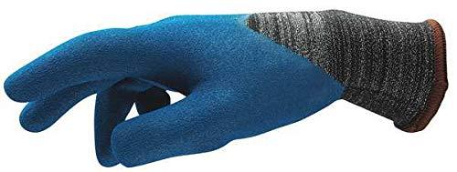 Cut Resistant Gloves, Blue/Gray, 11, PR