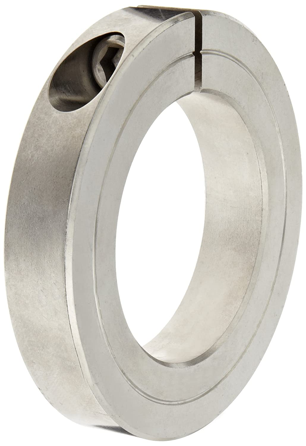 Climax Metal H1C-287-S T303 Recessed Screw Collar, One Piece, Stainless Steel, 2-7/8