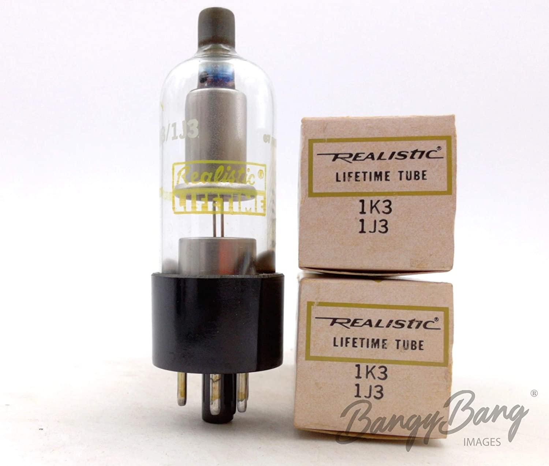 2 Vintage Realistic 1K3/1J3 High Voltage Half Wave Rectifier Diode Valve- BangyBang Tubes