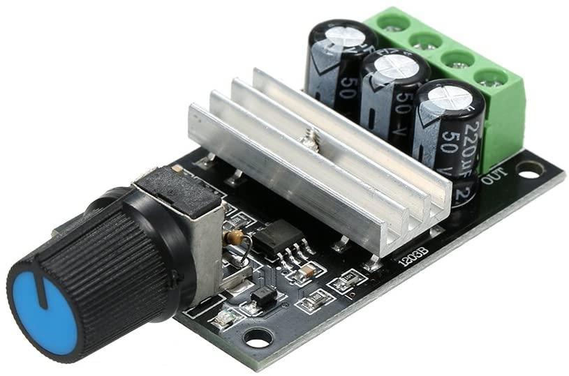 Lechnical 6V 12V 24V 28V 3A PWM DC Motor Speed Controller Speed Regulator Adjustable Switch 1023B