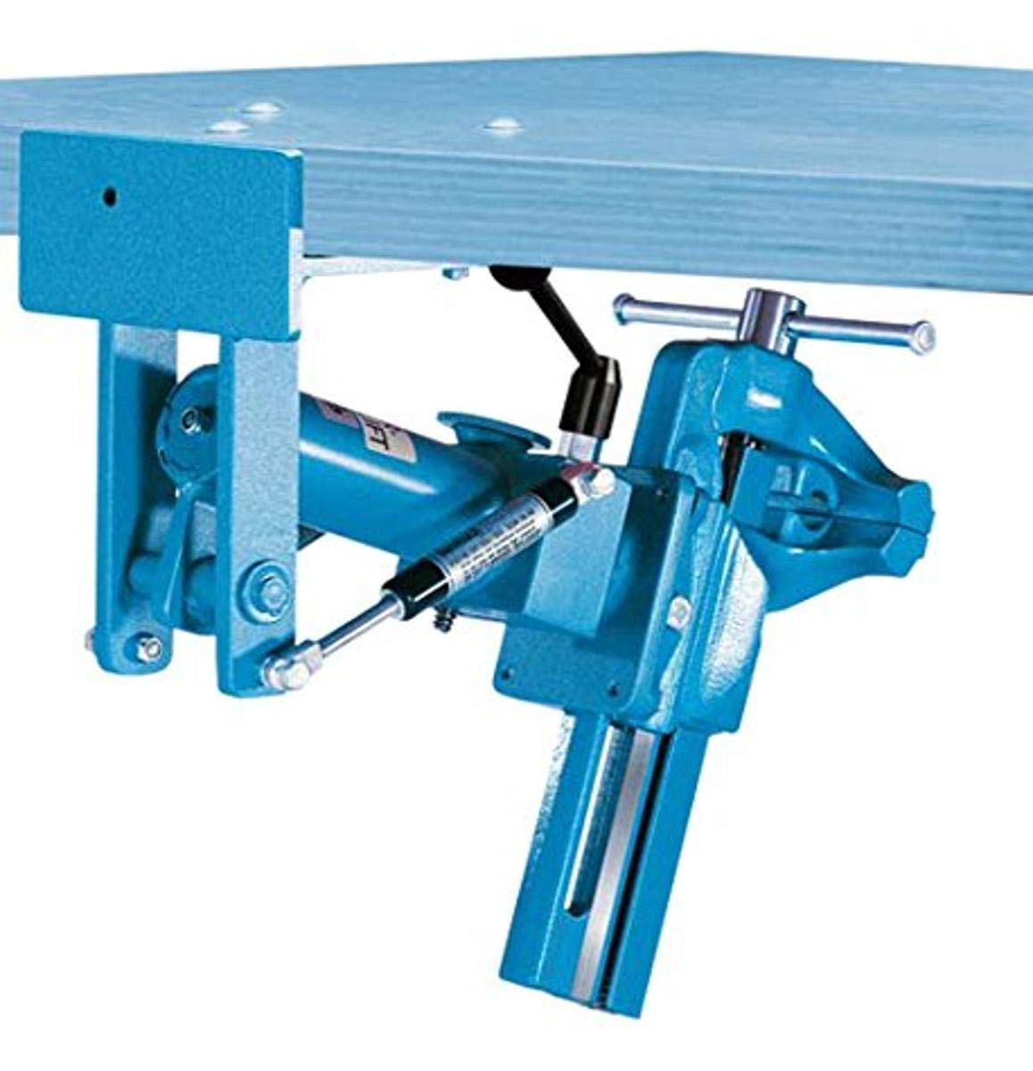 Heck Industries VCLH106120 Heuer Collapsible Lift Fold and Stow Fixture, Forged Steel, Blue