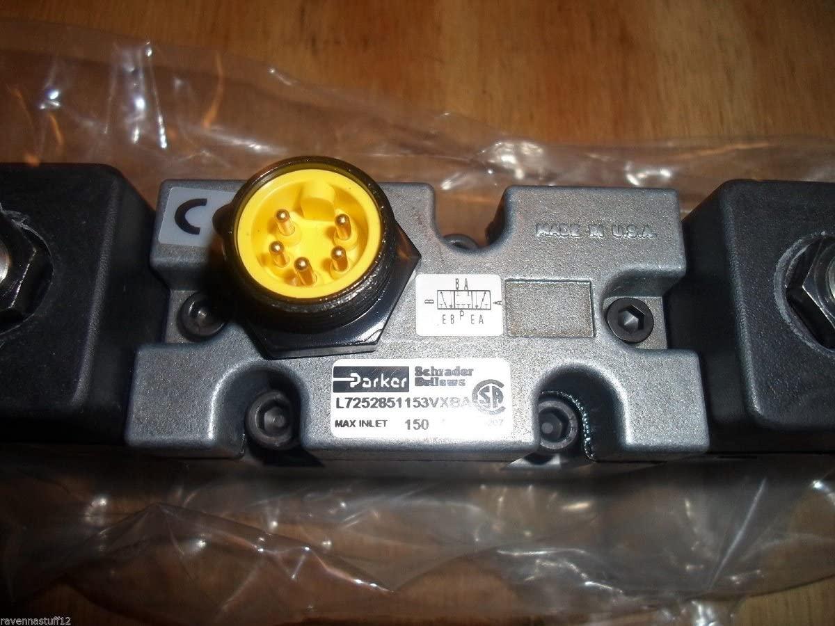 PARKER L7252851153VXBA PNEUMATIC VALVE (NEW IN BOX)