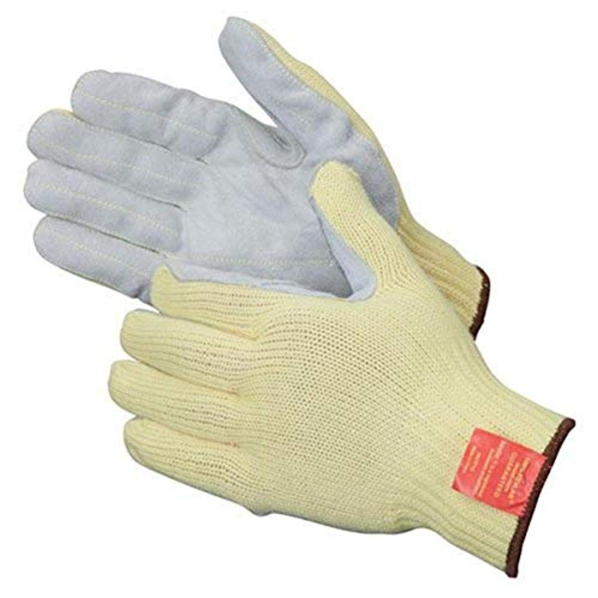 Liberty 4883 Kevlar Knit Sewn Glove with Leather Palm, Cut Resistant, Small (Pack of 12)