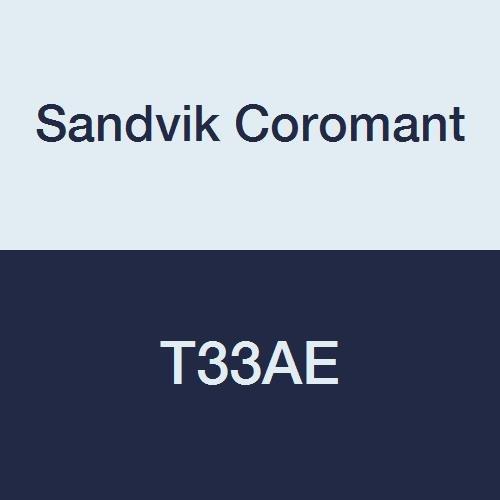 Sandvik Coromant, T33AE, Clamped Chipbreaker