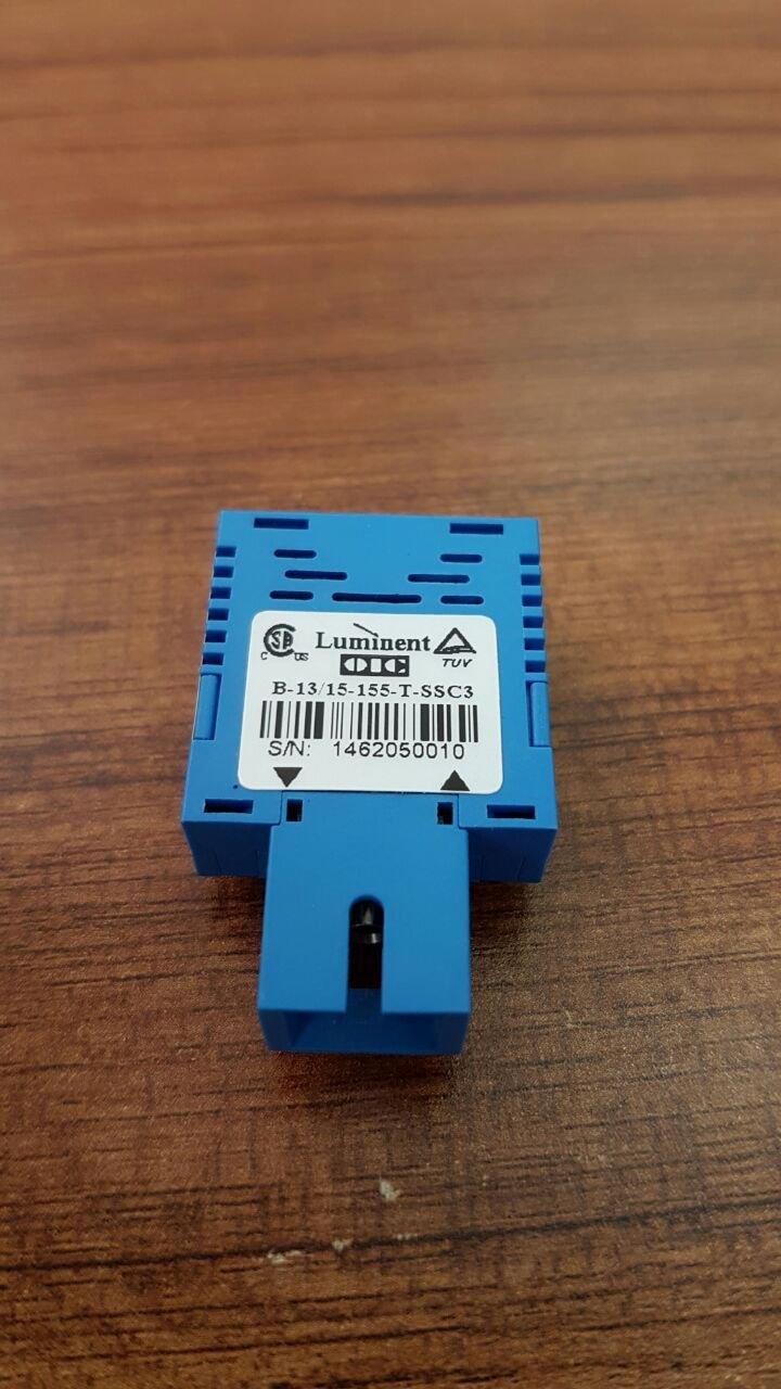 LOT OF 3 PCS.LUMINENT B-13/15-155-T-SSC3 FIBER OPTIC TRANSCEIVER