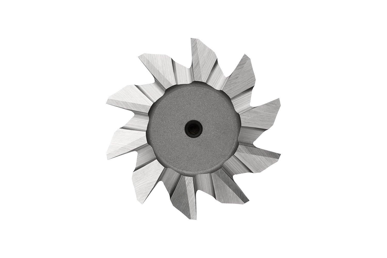 Dormer C83012.0X60 Cobalt High Speed Steel Shank Dovetail Cutter, Bright Coating, Cobalt High Speed Steel, 5 mm Plug Chamfer, 12 mm Head Diameter, 54 mm Full Length, 20