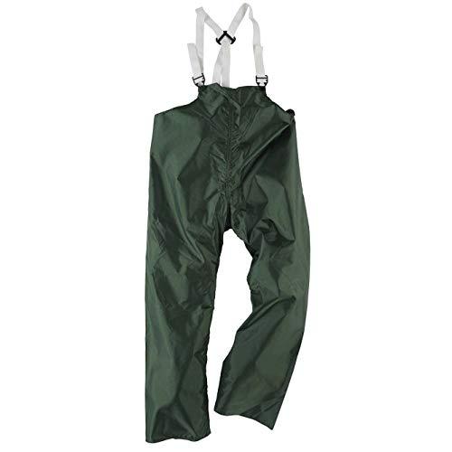 Neese 60BT Polyurethane/Nylon Outworker Bib Trouser, Medium, Green