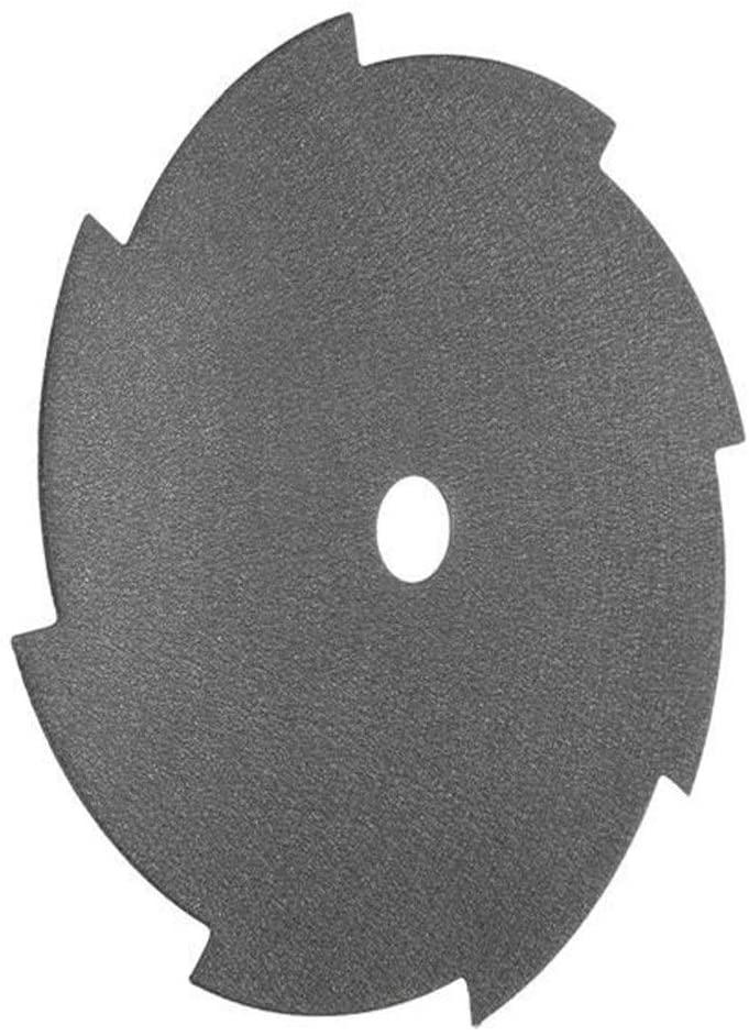 Gulakey 255x25.4x1.6mm 8 Tooth Blade Brush Cutter Strimmer Cutting Saw Blade Metal Cutting Circular Saw Blades