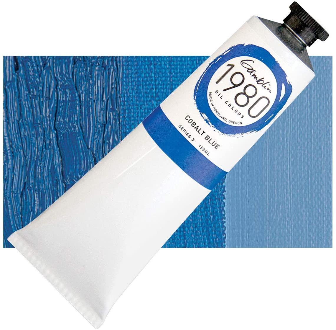 Gamblin 1980 Oil Cobalt Blue 150Ml