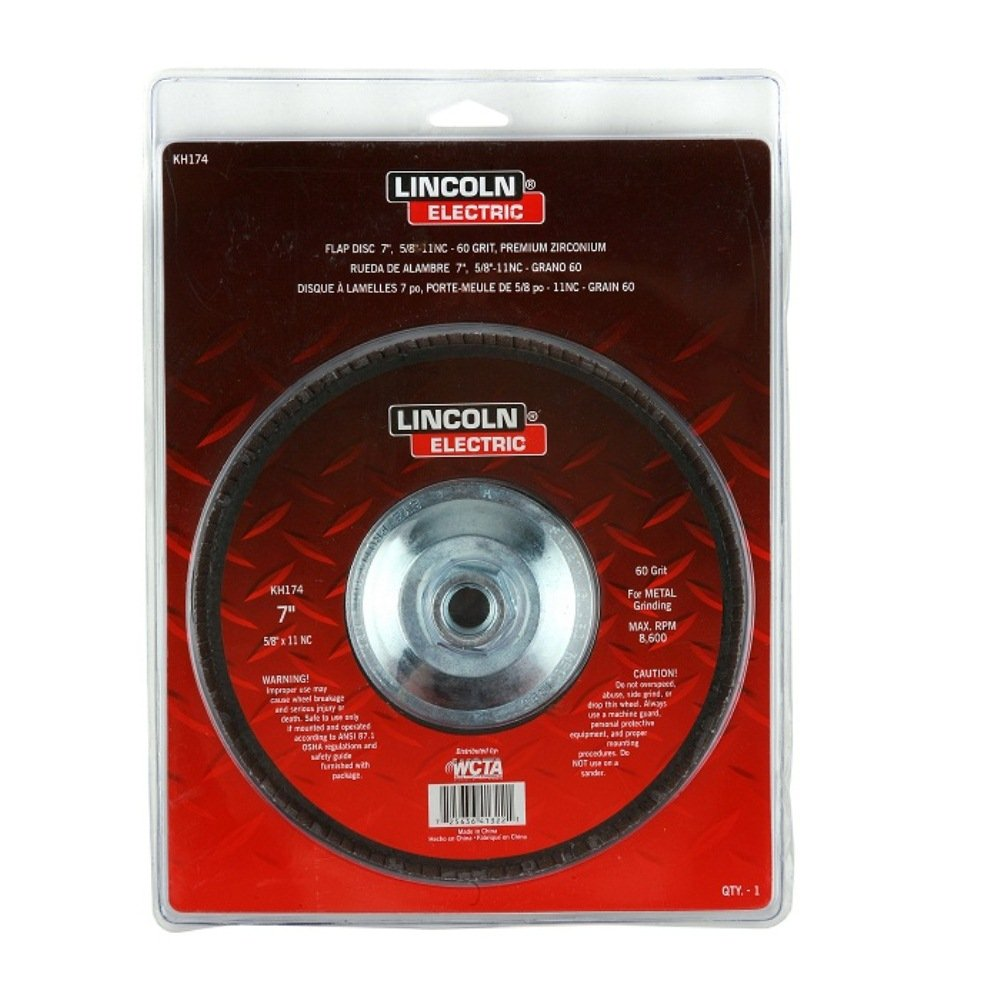 Lincoln Electric KH174 Abrasive Flap Disc, 5/8
