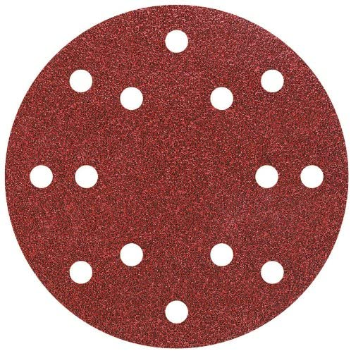 Wolfcraft 5?Adhesive Sanding Discs for Exzent K80?Diameter 150?mm 1842000 by Wolfcraft