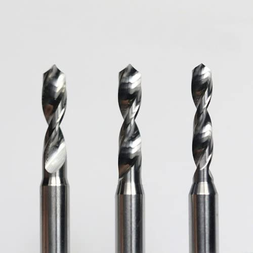 FBT PCB Cemented Carbide 3.15mm Drills PCB mini drill Bit tungsten steel carbide for print circuit board cnc drill Bits Machine