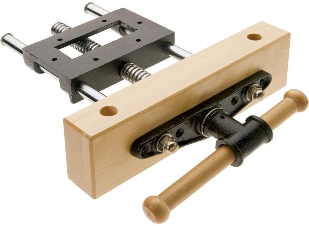 Grizzly Industrial T24249 - Cabinet Maker's Front Vise