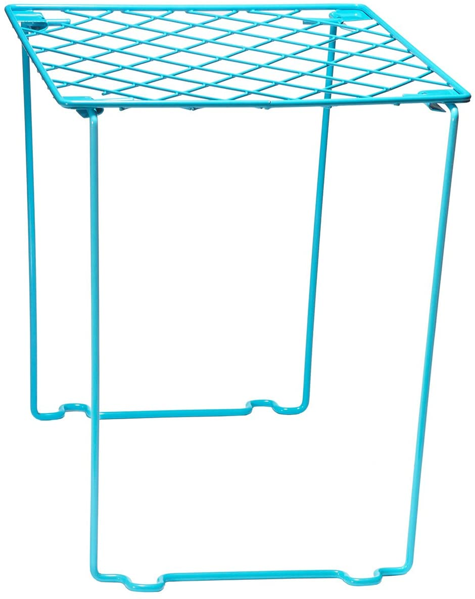 Style it! Stackable Locker Shelf, Turquoise Blue