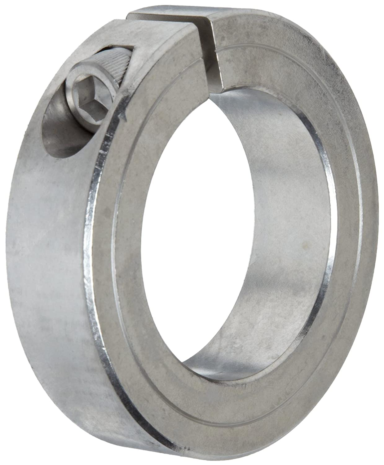 Climax Metal 1C-156-S T303 Stainless Steel One-Piece Clamping Collar, 1-9/16