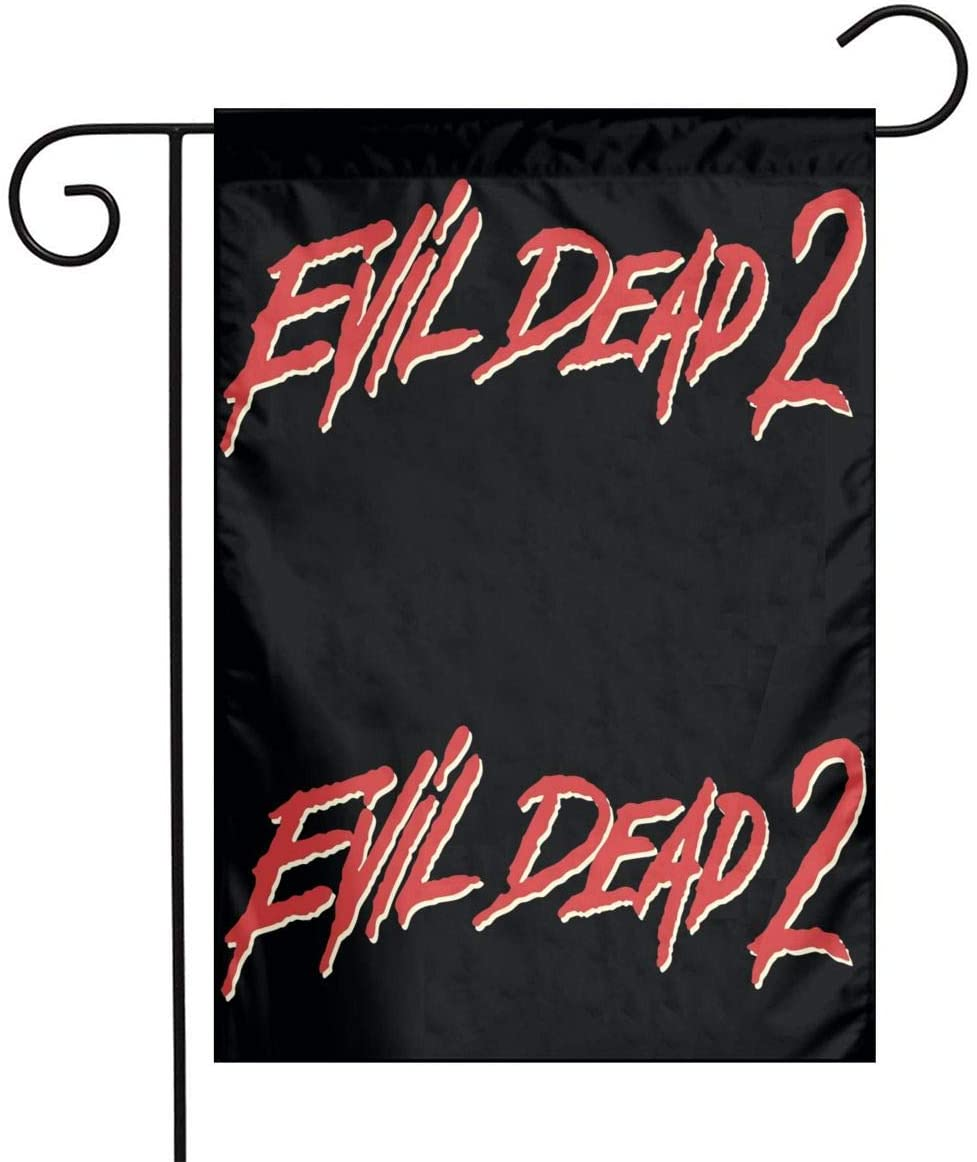 Wehoiweh Evil Dead Iidecorative Flags, 12x 18 Inches Flags Add Style to The Courtyard