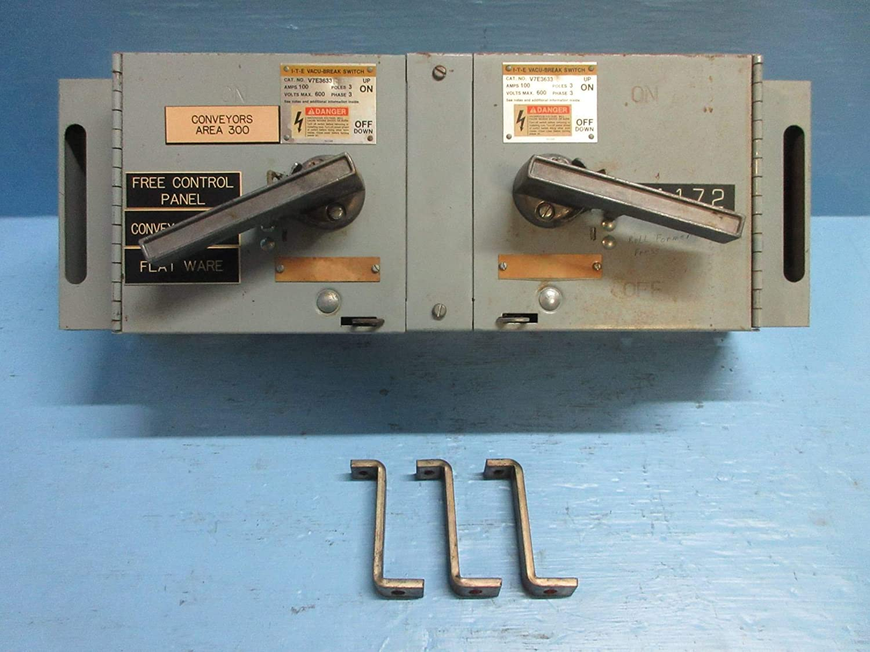 ITE V7E3633 w Hardware 100 Amp 600V Fusible Vacu-Break Panelboard Switch Siemens (Renewed)