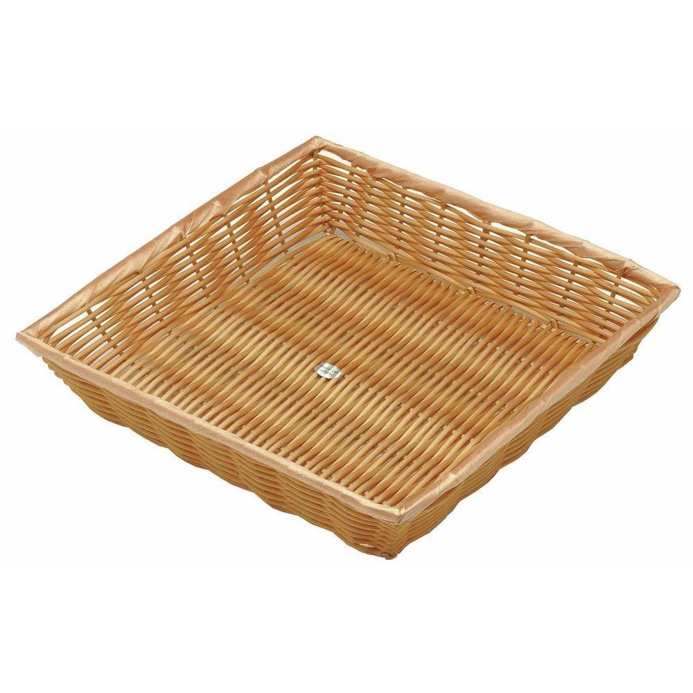Square Basket Natural Color - 12