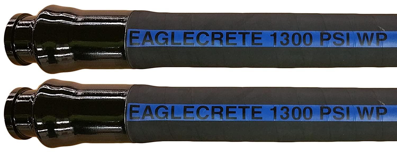 JGB Enterprises A060-4402-4425 Eaglecrete 1300 Cement Hose, 2-1/2