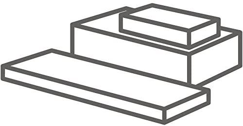 MJ May G15-TRB-.5-2X3 PTFE (Teflon) Rectangular bar, White