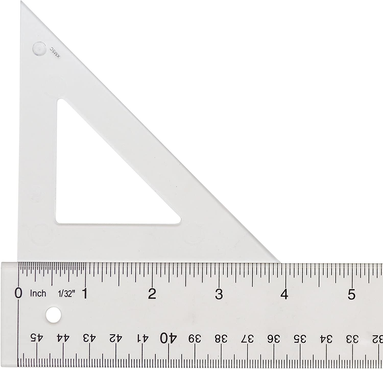 Westcott Styrene Triangle Ruler, 4
