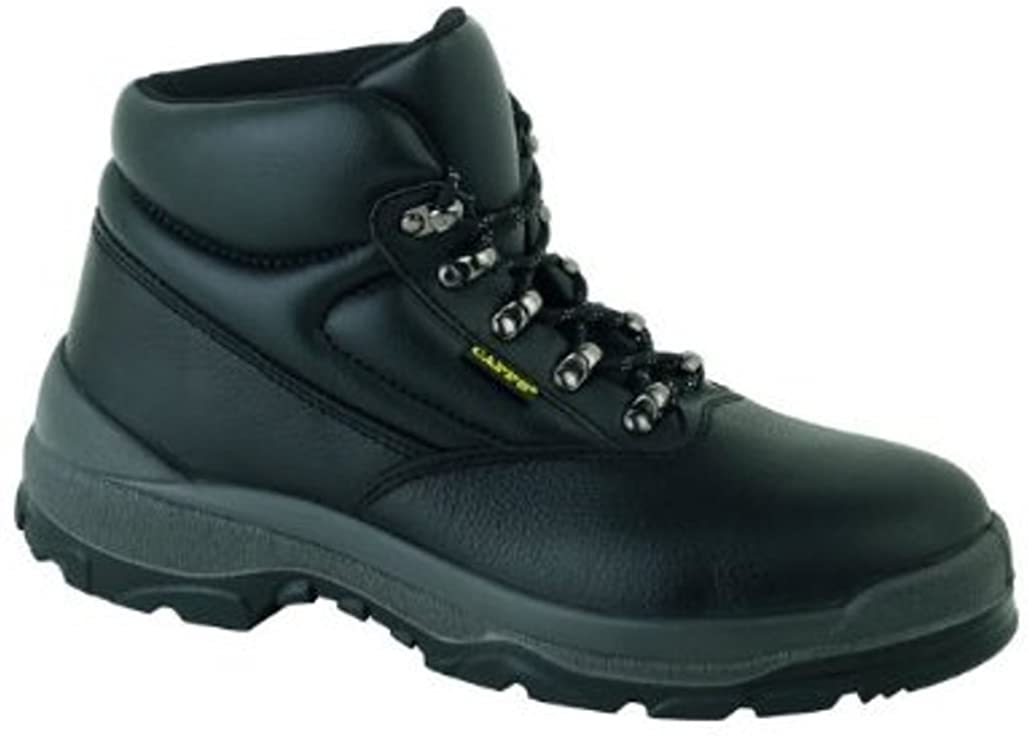Capps Mens LH811SM Antistatic Safety Grain Leather Chukka Boot With Steel Midsole