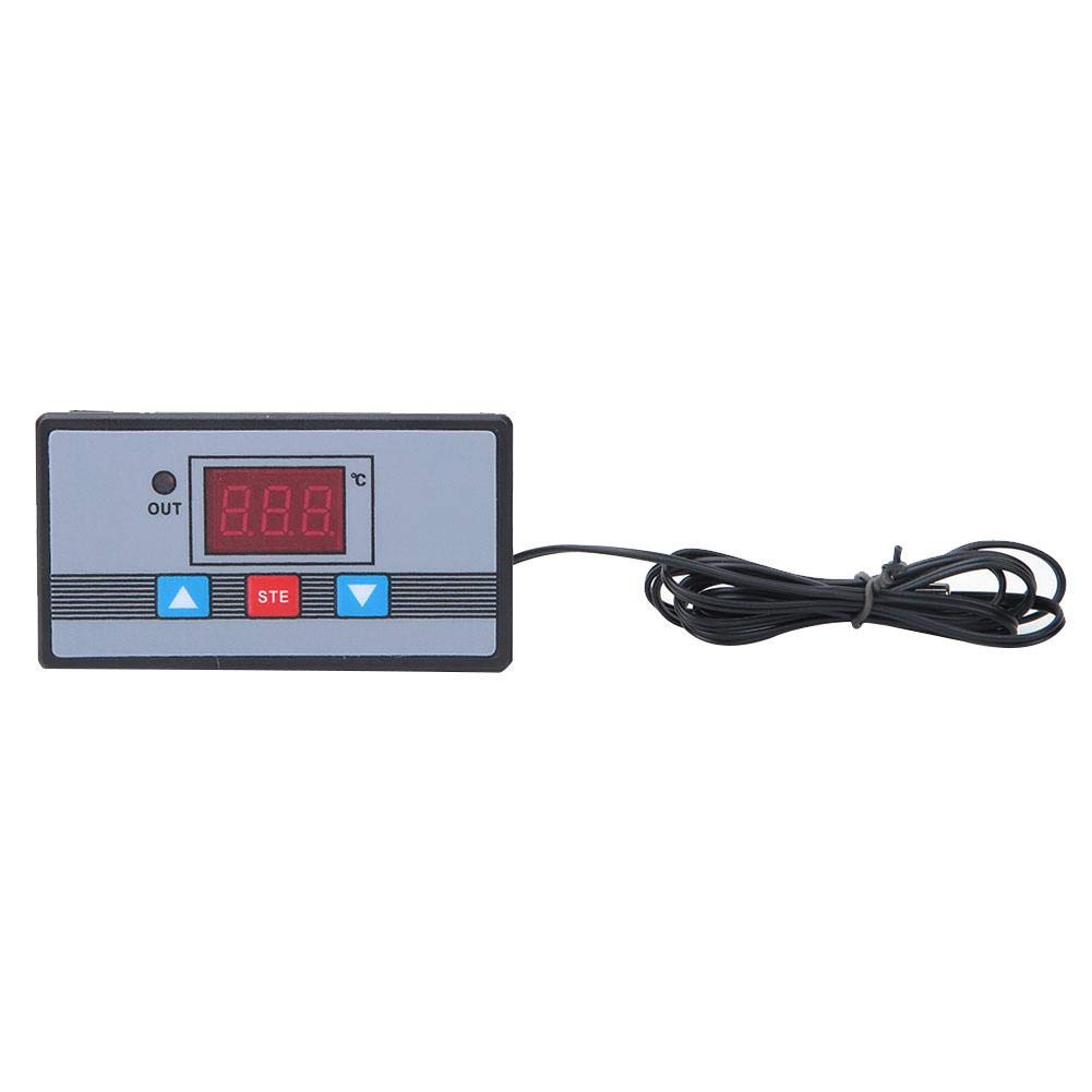 High Accuracy DC12V/DC24V/AC110~220V Digital Display Controller Module, Temperature Control Switch, -50℃ ~ 110℃ for Home for Industry Equipment(AC110~220V)
