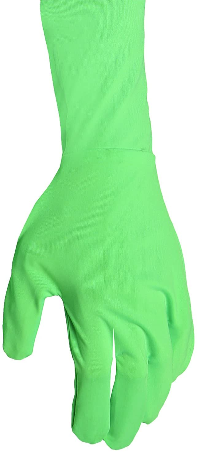 Savage Green Screen Gloves, One Size