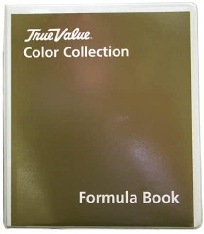 True Value Company TVCC-ZFB Series Color Coll Formula Book