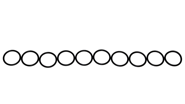 Sterling Seal ORBN013x10 Number-013 Standard O-Ring, Buna Nitrile Rubber, 70 Durometer Hardness, 7/16