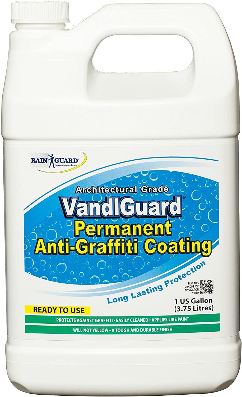 VandlGuard RTU Anti-Graffiti Non-Sacrificial Coating, Gallon Bottle 4/Case